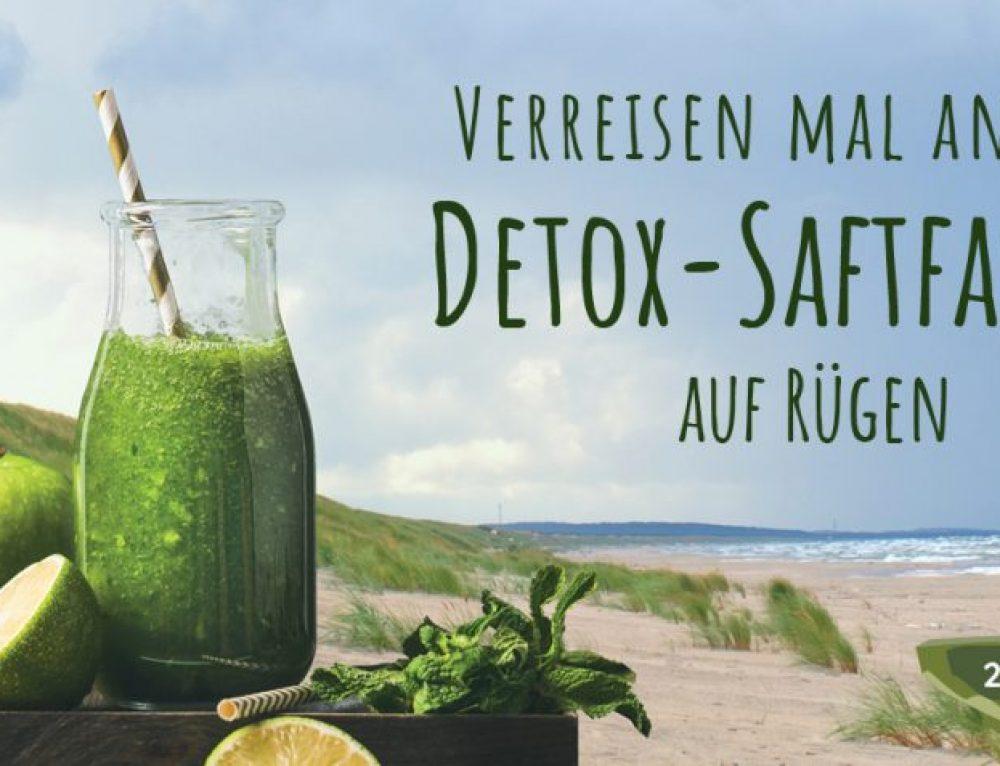 Detox-Saftfasten auf Rügen-Termine in 2019