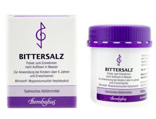Darmreinigung mit Bittersalz